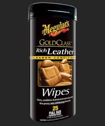 Meguiars Gold Class Leather Wipes